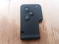 Корпус смарт карты для RENAULT (Рено) Scenic сценик  MEGANE меган 3 -кнопки (без лезвия) и логотипа