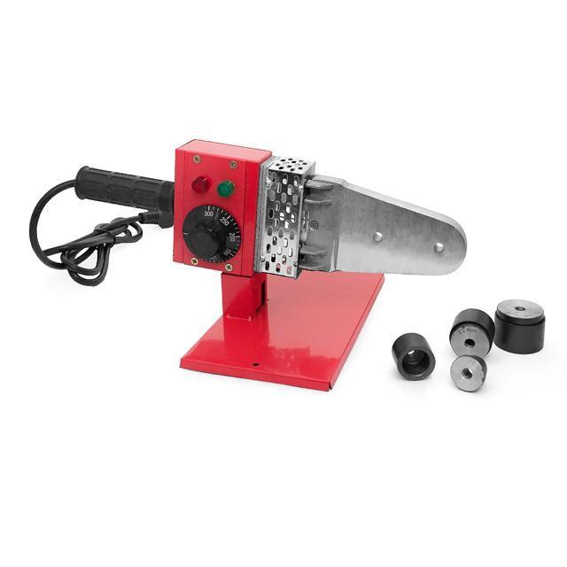 Паяльник для труб из PPR 20-32мм, 800Вт, 0-300°С, 230В (RT-2101 Intertool)