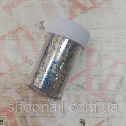 Переводная фольга для ногтей (в баночке), фото 2