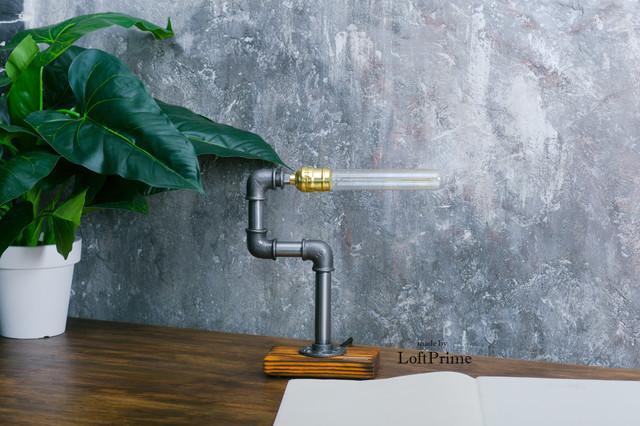 Настольная лампа  стиле лофт T_13.3