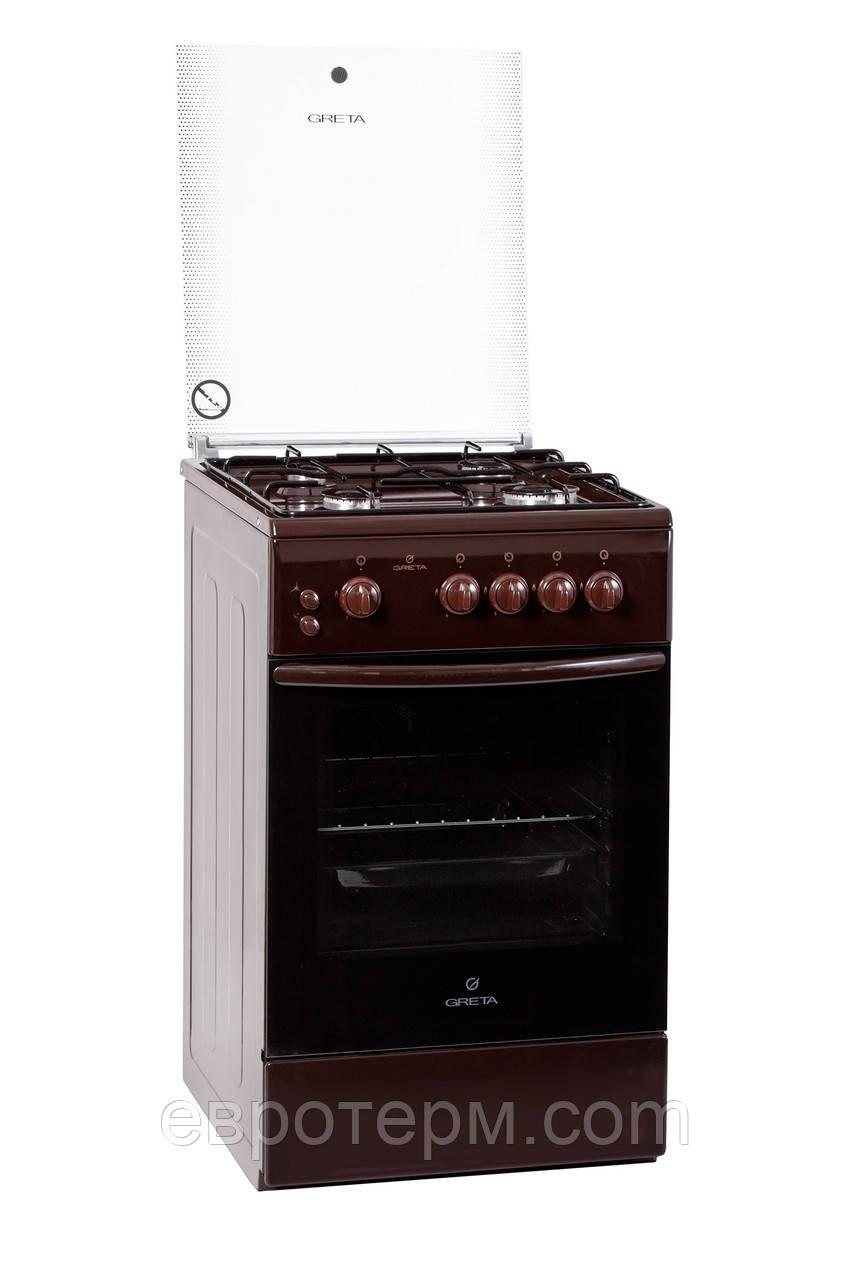 Газовая плита GRETA 1470-00-07 BM коричневая