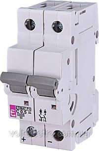 Автоматичний вимикач ETIMAT P10-DC 10 кА 0.5 A 2P кат.C