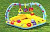 Детский бассейн Intex с надувным дном Фигурки