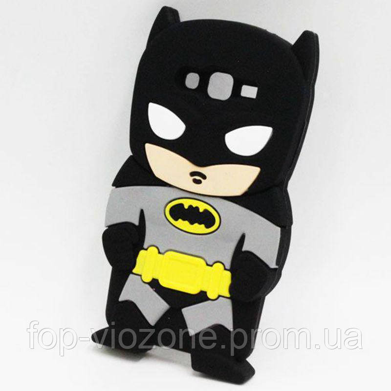 3d Чехол Бампер для Samsung Galaxy J7 Neo / J701 резиновый Бэтмен