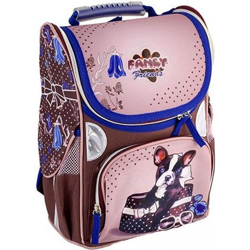 Рюкзак школьный каркасный Rainbow Puppy 7-503