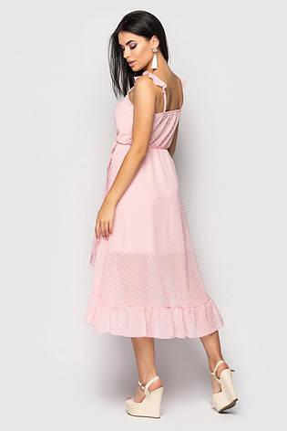 Сарафан жіночий Melanigorohp розовий розмір 42,44,46, фото 2
