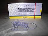 Шовний матеріал синтіл №4/0 (1,5) 0,75 м, обратнорежущая голка 20 мм, 1/2, фото 2