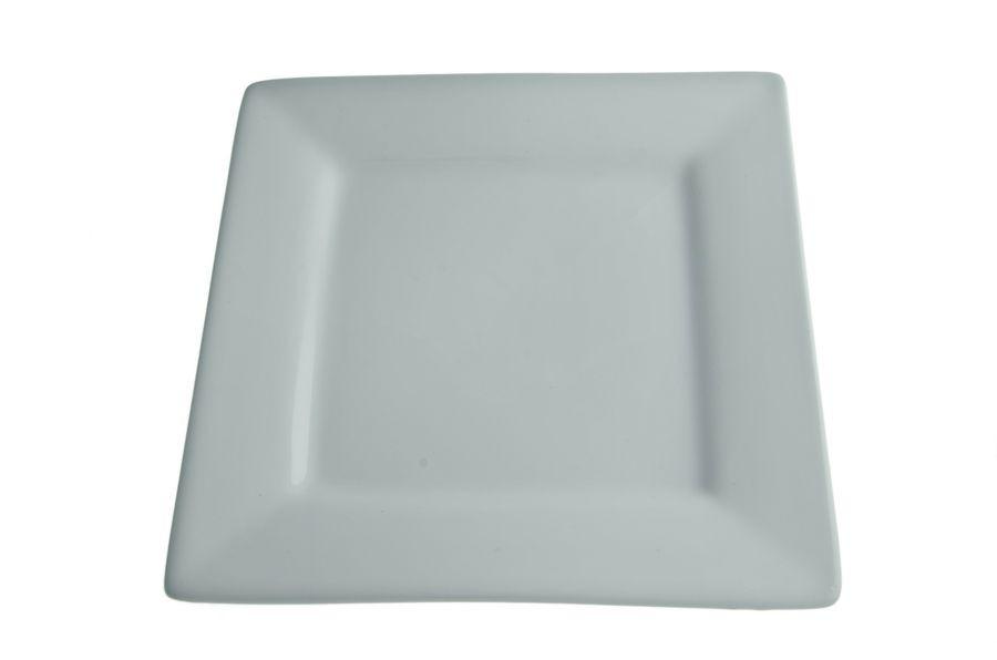 Тарелка квадратная фарф. 19 см, Aspen, Китай