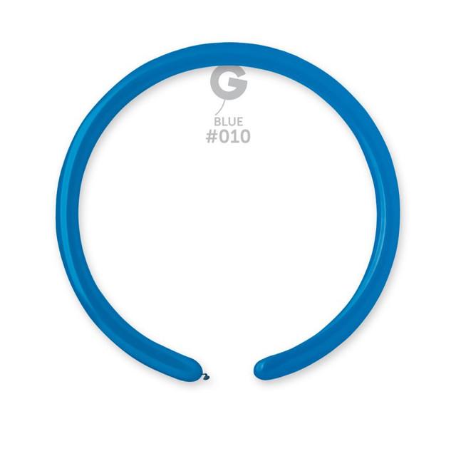 Шар конструктор 260, цвет синий 10