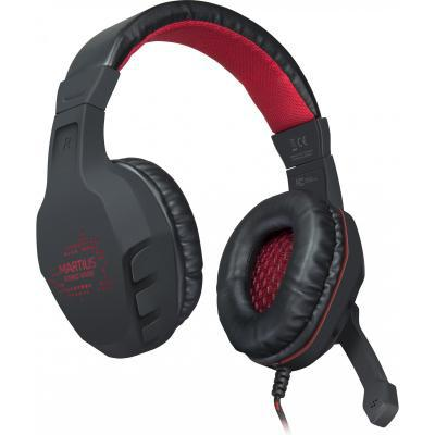 Наушники Speedlink MARTIUS Stereo Gaming Headset black (SL-860001-BK)