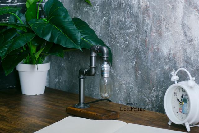 Настольная лампа  стиле лофт T_15.2