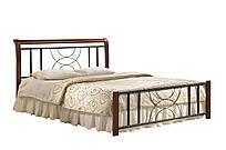 Кровать двухспальная Кэлли 1600х2000 каштан