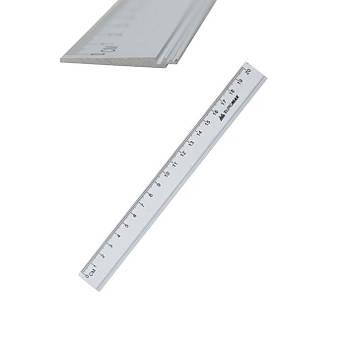 Лінійка алюмінієва 20 сантиметрів, Buromax BM.5800-20