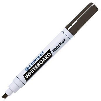 Маркер для магнітних сухостираємих дошок, чорний, клиноподібний пишучий вузол, Centropen 8569
