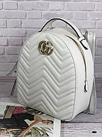Крутой женский рюкзак GUCCI  'GG Marmont'  (реплика), фото 1