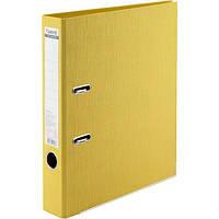 Папка-регистратор Axent А4 1711-08-A Prestige 50 мм желтый