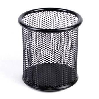 Подставка для ручек LKC MF08224 металлическая круглая черная