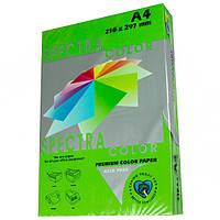 Бумага цветная А4 Spectra Color 160 г/м2 25 л интенсив ярко-зеленый IT 230 Parrot