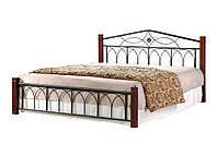 """Кровать двухспальная """"Миранда""""1600х2000каштан"""