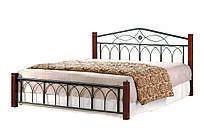 """Кровать двухспальная """"Миранда"""" 1600х2000 каштан"""