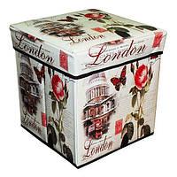"""Складная коробка-пуфик """"Лондон"""", фото 1"""
