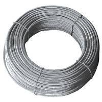 Трос алюмінієвий d10мм (19 х d1,8мм) 50мм2 50м DKC