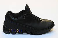 Кроссовки Adidas Porsche Design кожа (черный/синий)