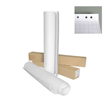 Блок бумаги для флипчарта Axent 8061-A 64*90 см 20 листов 70 г/м2 клетка