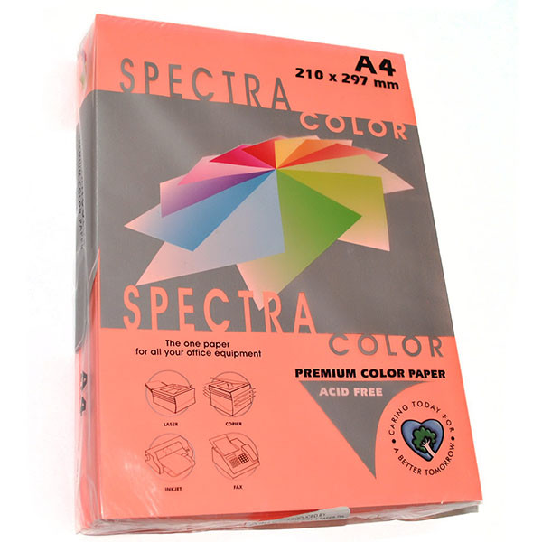 Бумага цветная А4 Spectra Color   75 г/м2 50 л неон розовый IT 342 Cyber HP Pink