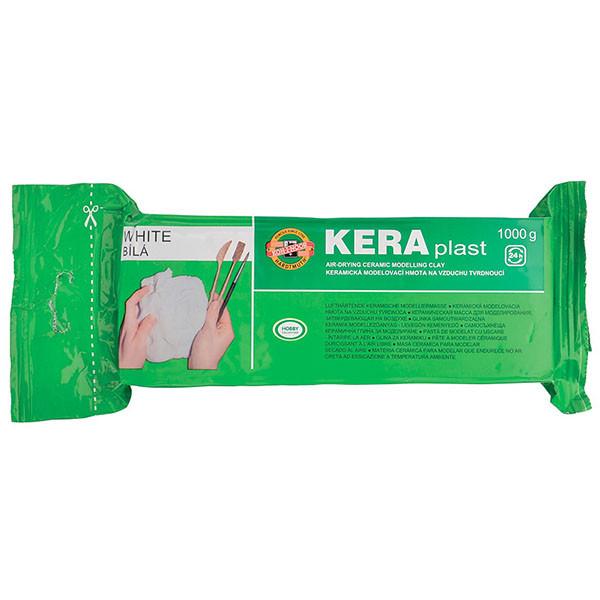 Пластилин Koh-i-noor Keraplast Белый 1000 г 131706