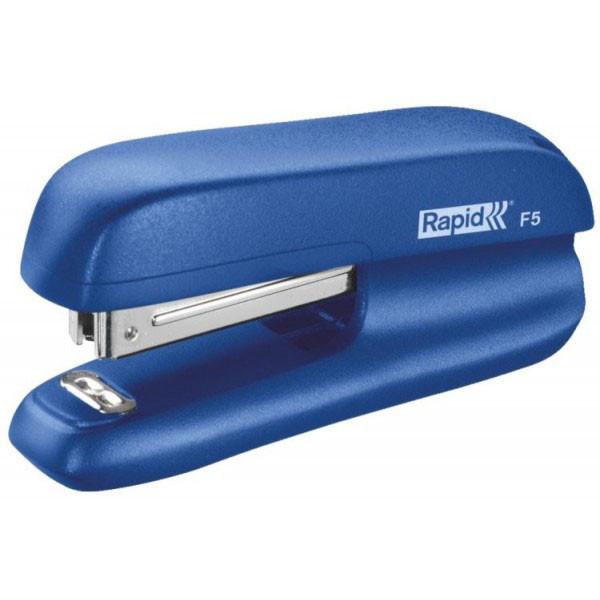 Степлер Rapid F5 5000265 скоба №10 до 10 листов синий