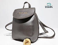 Мини рюкзак Серебряный Michael Kors эксклюзивный рюкзак-сумка копия люкс