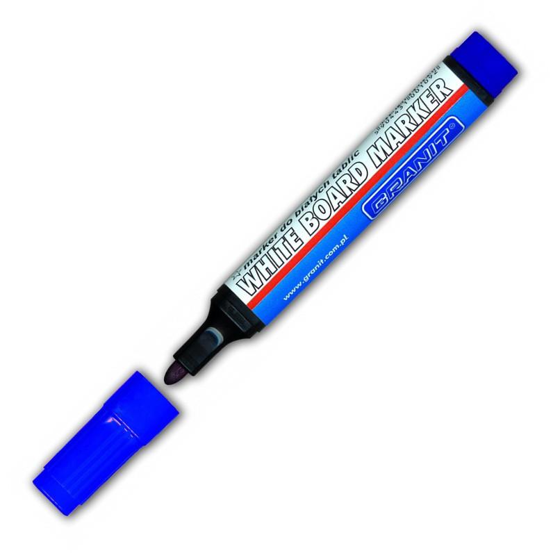 Маркер Granit Whiteboard M460 круглый 2-3 мм синий