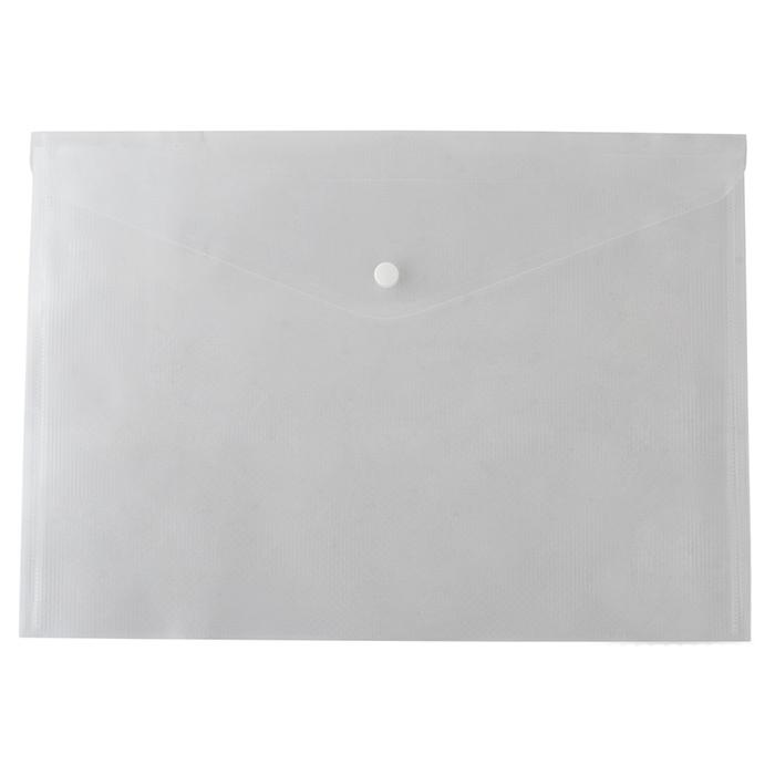 Папка на кнопке Buromax А5 BM.3936-00 прозрачная