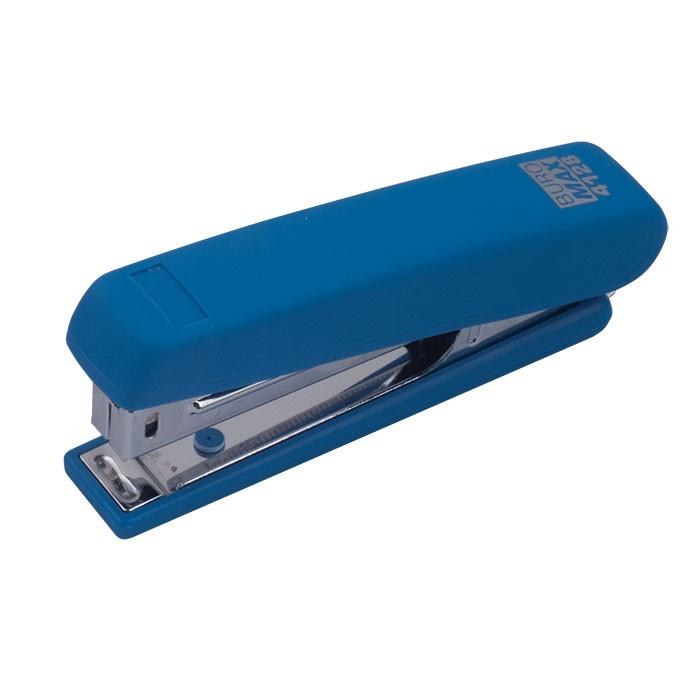 Степлер Buromax BM.4128-02 скоба №10 до 12 листов синий