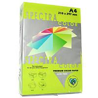Бумага цветная А4 Spectra Color 155 г/м2 25 л неон зеленый IT 321 Cyber HP Green