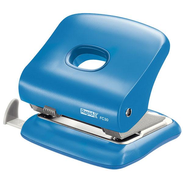 Дырокол Rapid FC30 23639402 до 30 листов синий