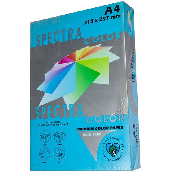 Бумага цветная А4, 160 г/м2 - Spectra Color IT 220 Turquoise, синий 25 листов