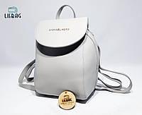 Мини рюкзак Серый Michael Kors эксклюзивный рюкзак-сумка копия люкс