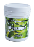 Натуральные таблетки при кашле, бронхите,трахеите - Бронхионорм