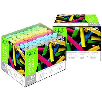 Мел цветной Mungyo ADC-100AB 100 шт