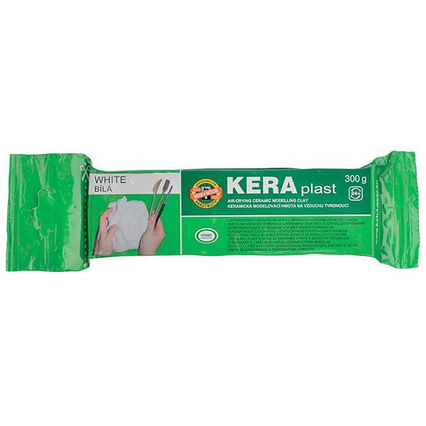 Пластилин Koh-i-noor Keraplast Белый 300 г 131708