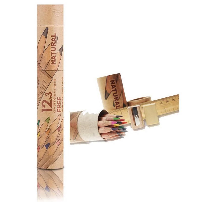 Набор карандашей для графики Marco Natural 6810-15CY