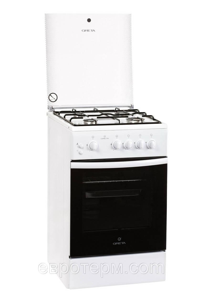 Газовая плита GRETA 1470-00-07 WM белая