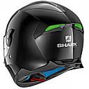 Шлем Shark Skwal 2 р.XS, черный глянец, фото 2