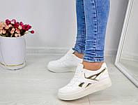 Кроссовки с золотыми вставками, фото 1