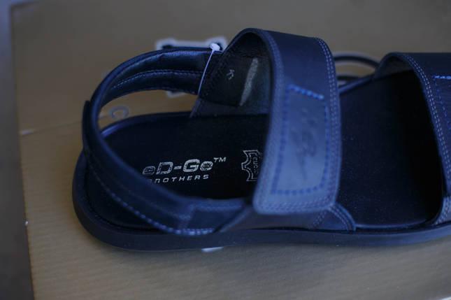 Кожаные мужские сандалии Ed-Ge., фото 2