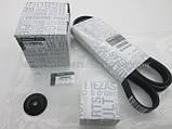 Комплект ремень+натяжной механизм+ролик (+AC) на Рено Трафик 1.9 dCi - Renault (оригинал) 117200713R, фото 9