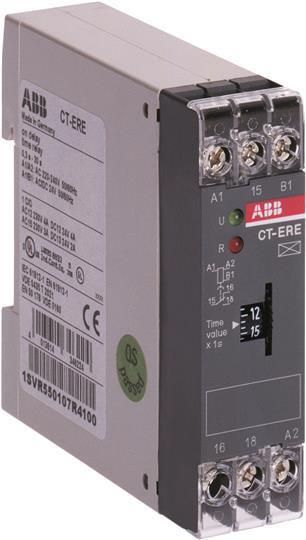 Реле времени ABB с задержкой включения CT-ERE, 1SVR550107R1100