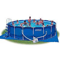 Бассейн каркасный Intex 28236 с фильтр-насосом (int28236)